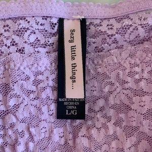 Victoria's Secret Intimates & Sleepwear - Victoria's Secret Womens Lingerie Teddie Sz L X07